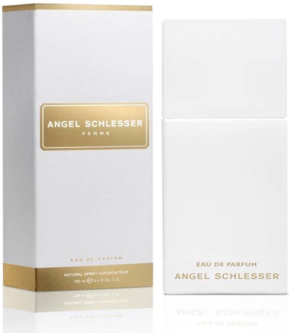 Angel Schlesser Femme Парфюмерная вода, женская, 100 мл49199Новая Парфюмированная вода ANGEL SCHLESSER FEMME основана на оригинальной парфюмерной композиции. Она передает тот же свежий, прозрачный аромат, становясь при этом более чувственной и теплой.Аромат контрастов, где свежесть и теплота чередуются с красотой и элегантностью, соблазнительное очарование женщины передает интенсивная композиция, полная женственной чувственности. Женщина ANGEL SCHLESSER FEMME обладает естественной элегантностью и внутренней красотой. Ей не нужны вычурные аксессуары для привлечения внимания. Все что ей нужно – быть настоящей, быть собой.А ее аромат – это часть ее индивидуальности. Парфюмированная вода ANGEL SCHLESSER FEMME делает акцент на ее обольстительной природе и придает ей больше притягательности, чувственности и теплоты.СТРУКТУРА АРОМАТАВерхние ноты: Мандарин, Португальский черный перец, Бергамот. Начальные ноты представляют собой искрящуюся свежесть бергамота и мандарина, которая вступает в контраст с пикантной теплотой перца. Сердечные ноты: Фиалка, Лепестки жасмина, Имбирь. Цветочные сердечные ноты женственны и жизнерадостны.Они представлены лепестками жасмина и таинственной нежностью фиалки. Экзотический имбирь завершает эту гармоничную композицию.Базовые ноты: Амбра, Бобы тонка, Светлая древесина, Белый мускус. Отражают чувственный и насыщенный характер аромата.Бобы тонка, мускус и амбра придают соблазнительный оттенок и женственное очарование композиции.