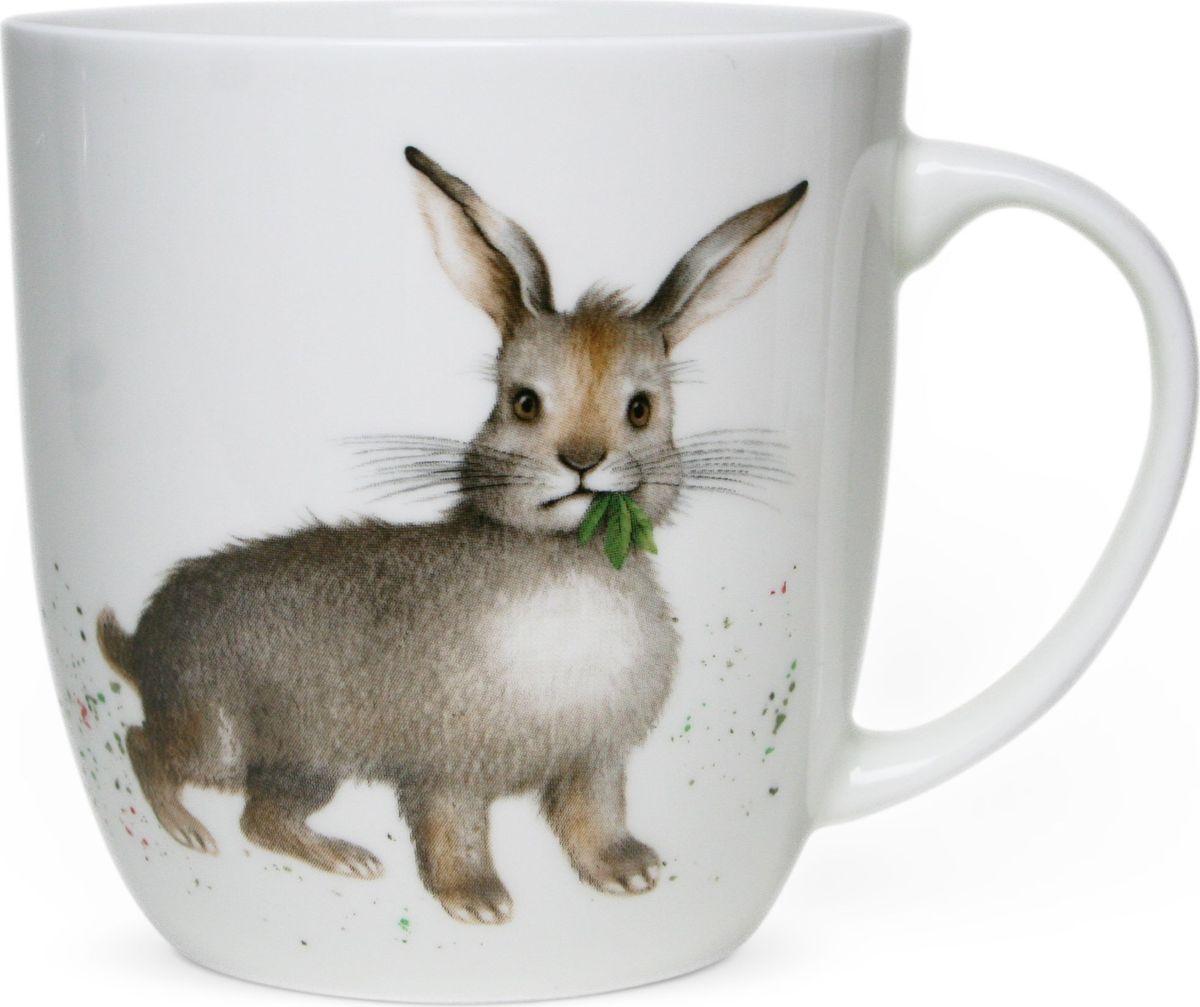 Кружка Priority Кролик, 380 млКРС - 768Кружки Priority, с изображениями милых и озорных животных, так привлекают к себе внимание! Рисунки, созданные специально для этой серии талантливым российским художником, станут прекрасным поводом улыбнуться первой утренней чашке кофе или чая даже в самую хмурую погоду. Выполнена на сертифицированном китайском костяном фарфоре.Можно мыть в посудомоечной машине и использовать в СВЧ.