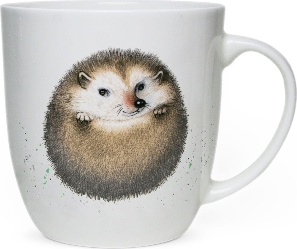 Коллекционная серия кружек из костяного фарфора высокого качества  Кружки Priority, с изображениями милых и озорных животных, так привлекают к себе внимание! Рисунки, созданные специально для этой серии талантливым российским художником, станут прекрасным поводом улыбнуться первой утренней чашке кофе или чая даже в самую хмурую погоду. Выполнена на сертифицированном китайском костяном фарфоре.   Можно мыть в посудомоечной машине и использовать в СВЧ.