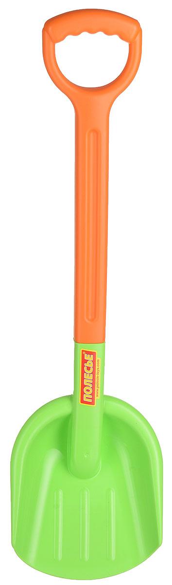 Полесье Игрушка для песочницы Лопата большая №3 цвет салатовый оранжевый полесье игрушка для песочницы грабли большие цвет красный