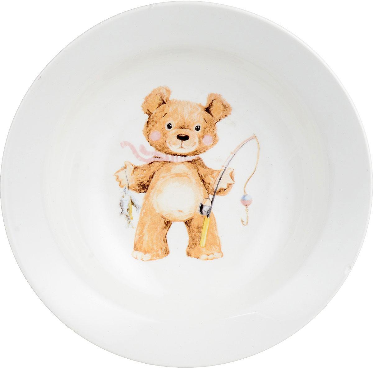 Кубаньфарфор Миска детская Медвежата 250 мл1301433_с удочкойФаянсовая детская посуда с забавным рисунком понравится каждому малышу. Изделие из качественного материала станет правильным выбором для повседневной эксплуатации и поможет превратить каждый прием пищи в радостное приключение. Особенности: - простота мойки, - стойкость к запахам, - насыщенный цвет.