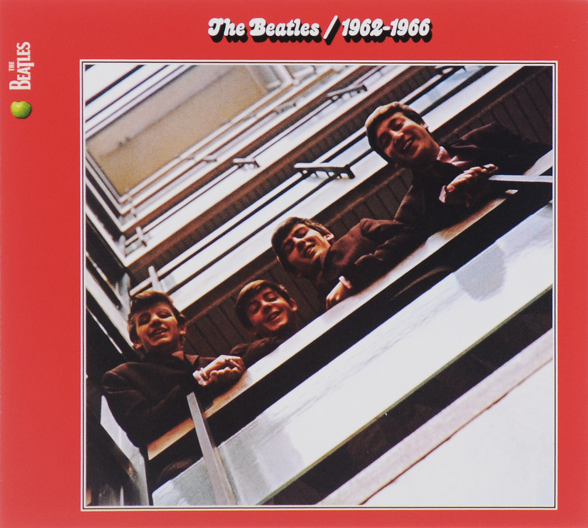 The Beatles The Beatles. 1962-1966 (2 CD) виниловая пластинка the beatles 1962 1966 remastered