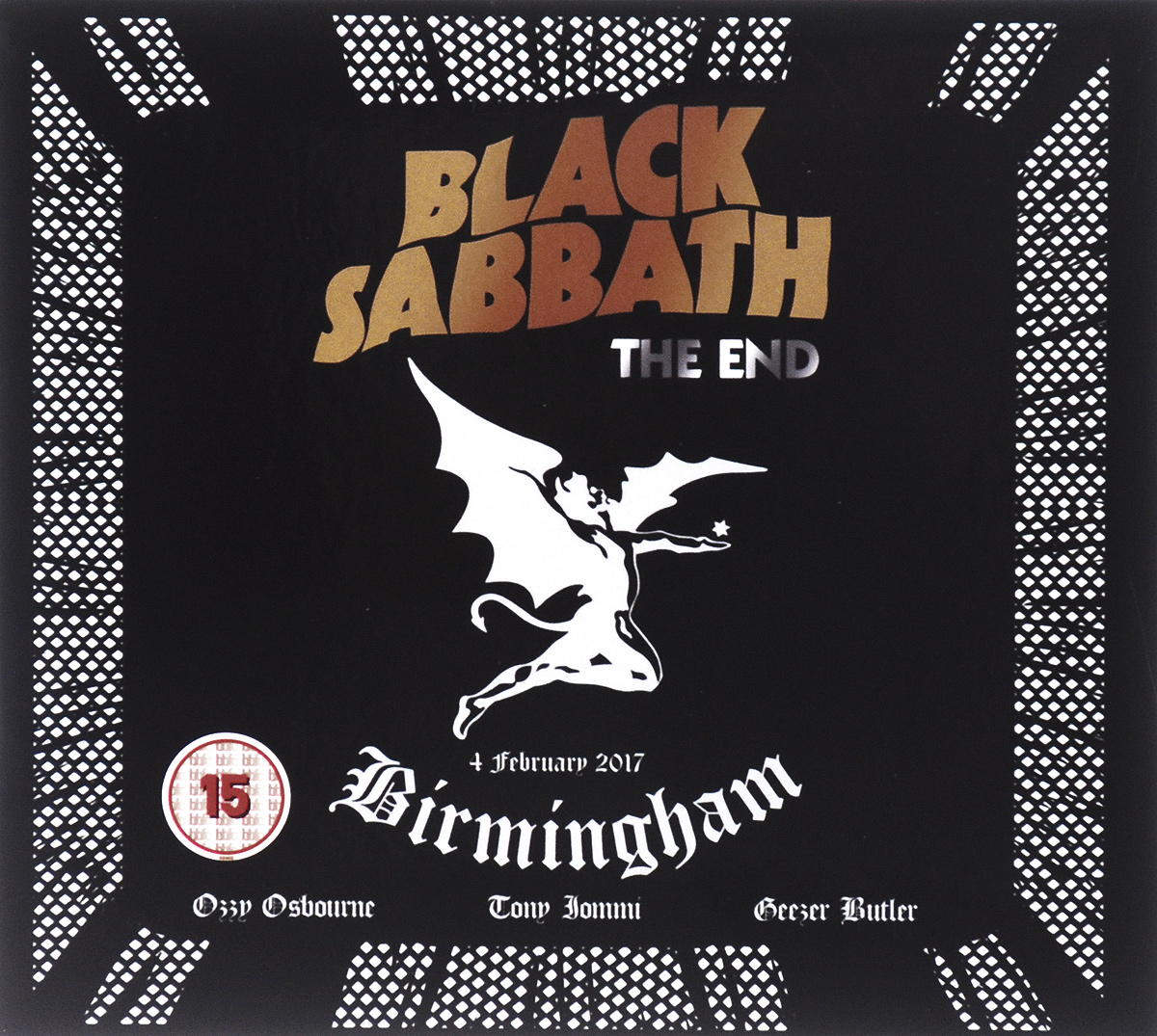 Black Sabbath. The End (DVD+CD)