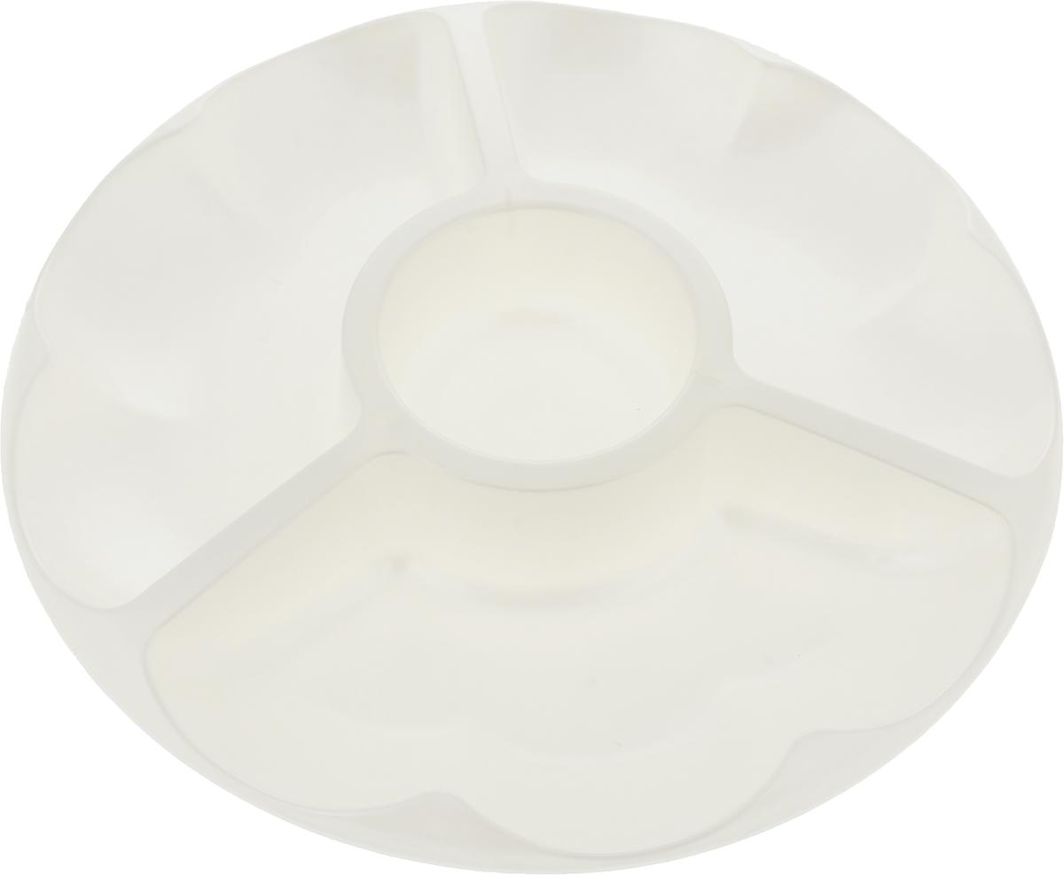 Менажница Мартика Меланза. С412С412Изделие выполнено с соблюдением необходимых требований к качеству и безопасности, включая санитарные, которые предъявляются к пластиковой продукции. Удобно в обращении. Имеет яркие цвета, привлекательный современный дизайн и высокий запас прочности. Материалы, используемые при производстве, отвечают всем необходимым санитарным нормам и стандартам качества и разрешены для контакта с пищевыми продуктами.
