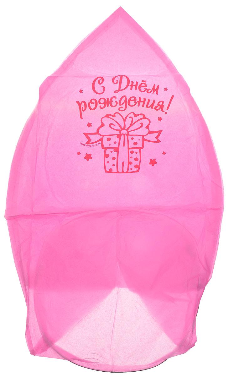 Страна Карнавалия Фонарь желаний С днем рождения! цвет розовый 96 x 83 x 36 612578