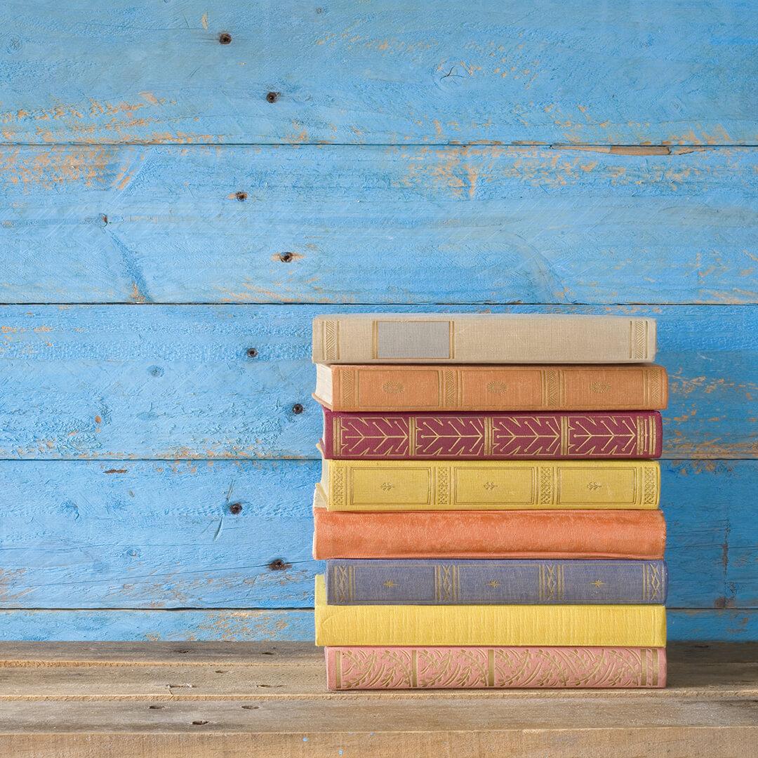 Картина на стекле Postermarket Красочные книги, 30 x 30 см картина на стекле postermarket розовый цветок 30 см х 30 см