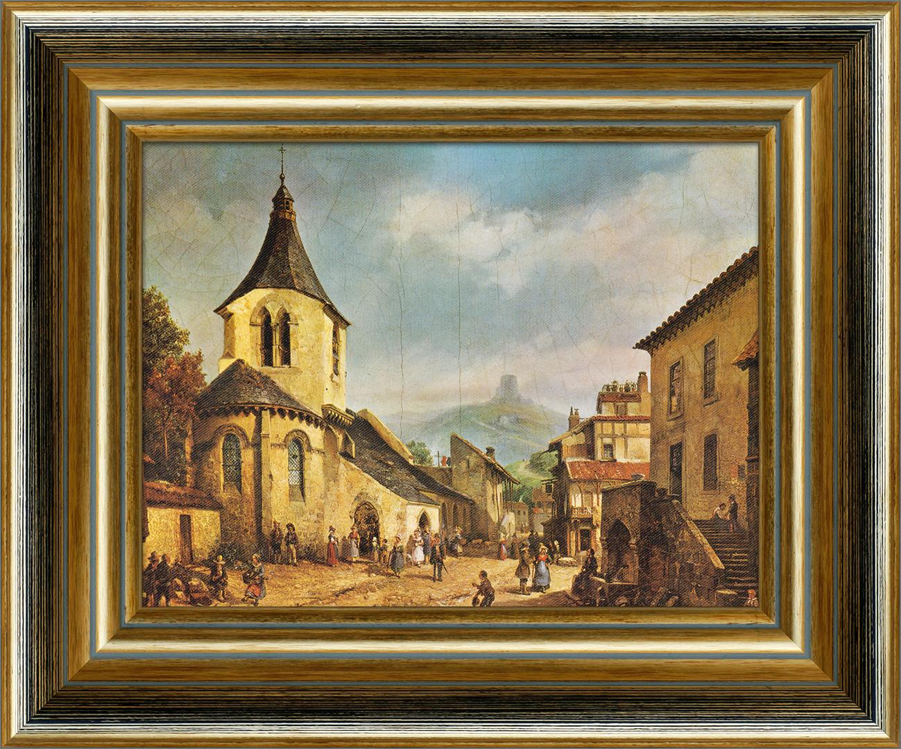 Картина Postermarket В воскресный день, 20 x 25 см городки