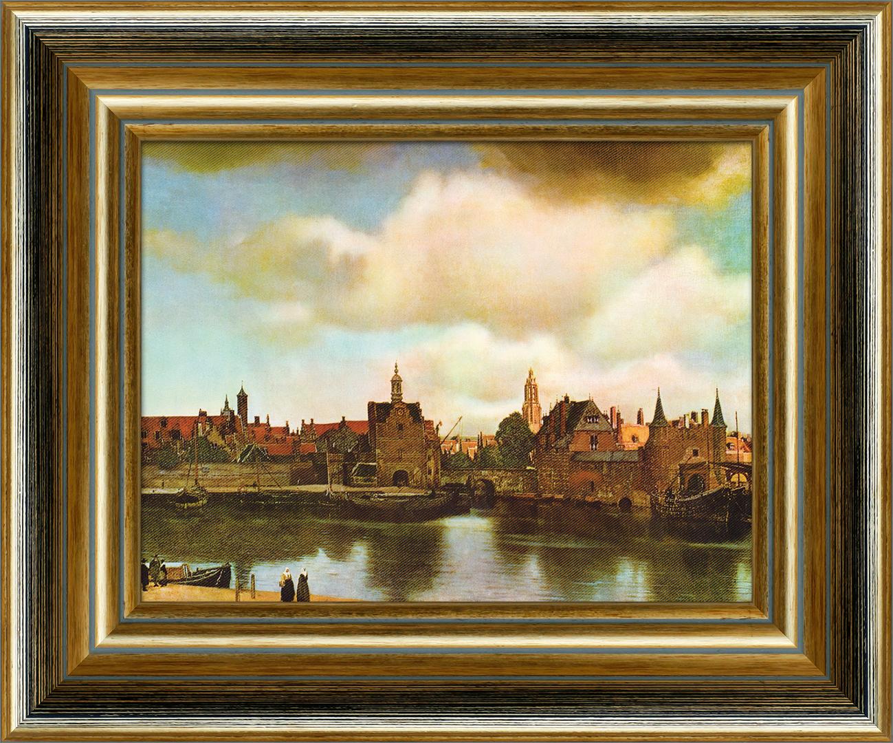 Картина Postermarket Фламандский пейзаж, 20 x 25 см рисуем карандашом портреты пейзажи натюрморты