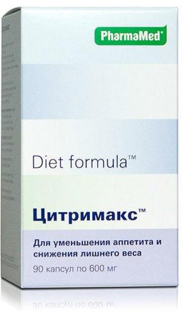 Диет формула Цитримакс капсулы №9029954Натуральный растительный комплекс Цитримакс (Цитримакс 500) предназначен для эффективного снижения веса и коррекции фигуры. Сфера применения: ДиетологияКоррекция фигуры