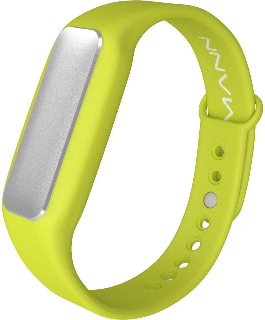 Qumann QSB 01 Green, фитнес-браслет - Фитнес-браслеты и шагомеры