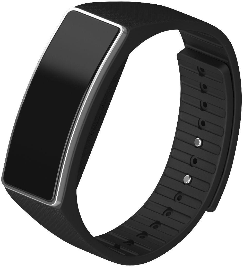 Qumann QSB 04, Black фитнес-браслет - Фитнес-браслеты и шагомеры
