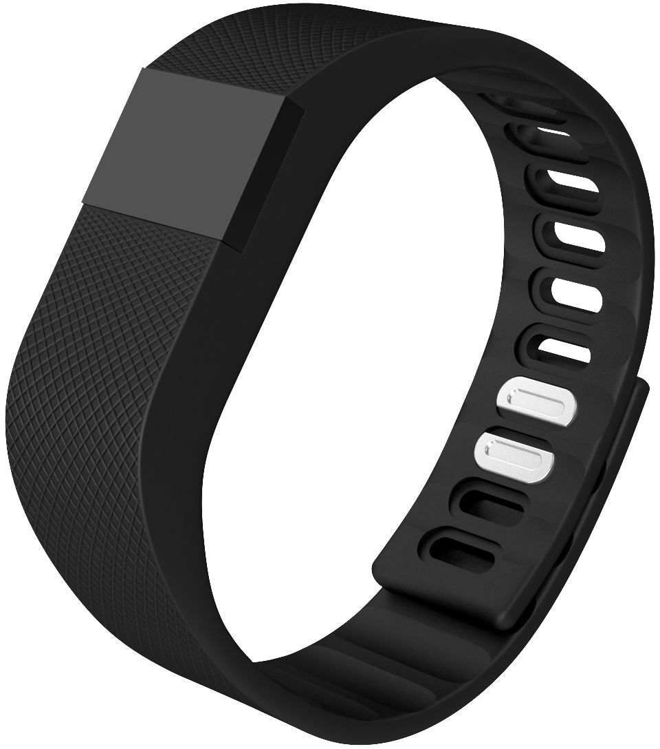 Qumann QSB 07 Black, фитнес-браслет
