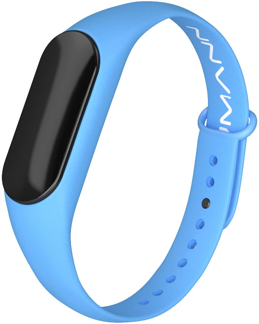 Qumann QSB 08, Blue фитнес-браслет - Фитнес-браслеты и шагомеры