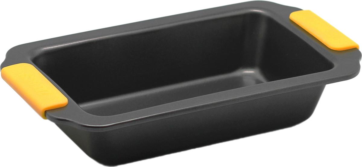Форма для запекания Zanussi Amalfi, цвет: черный, 30,5 х 17 х 6,51115726Прямоугольная форма для запекания Zanussi Amalfi, выполненная из толстой углеродистой стали, станет хорошим приобретением любой хозяйки. Отличительной особенностью формы являются силиконовые накладки на ручки изделия, благодаря которым вам не придется пользоваться дополнительными средствами для вытаскивания формы из духовки. Форма имеет антипригарное покрытие и утолщенные стенки, которые гарантируют равномерное пропекание изделия. Можно использовать в духовке при температуре до 230°С. Главное преимущество стальных форм Zanussi Amalfi - это абсолютная химическая нейтральность и экологичность.