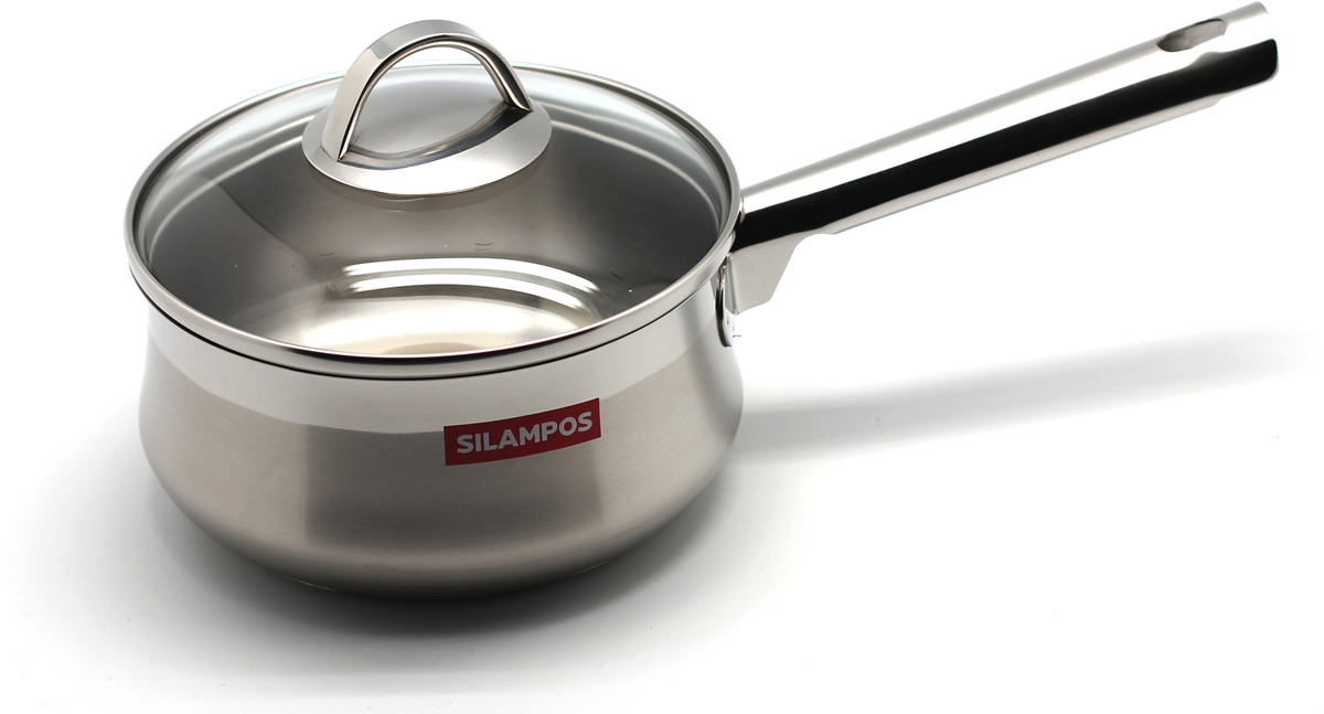 Сотейник Silampos Эмоция, цвет: металл, 1,5 л. 637123WA11161574611Сотейник Silampos Эмоция изготовлен нержавеющей стали.Крышка изготовлена таким образом, что в процессе приготовления пищи плотно прилегают к верхней кромке изделия, ручка при этом не нагревается и остается холодной.Можно мыть в посудомоечных машинах с использование не абразивных чистящих средств. Благодаря тройному дну с Impact Disc при использовании посуды Silampos не нужно устанавливать максимальный температурный режим, так как термическое дно распределяет тепло равномерно и эффективно по всей поверхности.Снимать посуду от источника тепла следует за несколько минут до завершения готовки, термическое дно продолжит нагревать пищу до завершения готовки.Пища приготовленная и оставленная в посуде Silampos остается теплой несколько часов.Подходит для всех видов плит.