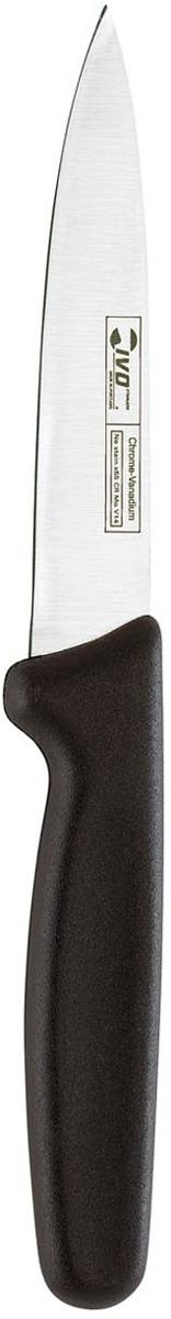Нож универсальный Ivo, длина лезвия 15 см. 25022.1525022.15Нож Ivo изготовлен из высококачественной нержавеющей стали стали. Благодаря острому лезвию, такой нож прекрасно подойдет для очистки, разделки и нарезки фруктов, овощей и мяса. Рукоятка, выполненная из пластика, удобно лежит в руке, не скользит и делает резку удобной и безопасной.Практичный и функциональный нож Ivo займет достойное место среди аксессуаров на вашей кухне. Характеристики:Материал: сталь, пластик. Общая длина ножа: 26,5 см. Длина лезвия: 15 см. Ширина лезвия: 2,7 см. Размер упаковки: 33,5 см х 8 см х 2 см. Артикул: 25022.15.