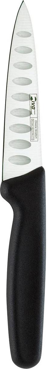 Нож Ivo, для овощей с канавками, длина лезвия 12 см25393.12Нож для овощей с канавками Ivo изготовлен из высококачественной стали. Благодаря острому лезвию, такой нож прекрасно подойдет для очистки фруктов и овощей, а также для нарезки их кубиками или дольками. Рукоятка, выполненная из пластика, удобно лежит в руке, не скользит и делает резку удобной и безопасной.Практичный и функциональный нож Ivo займет достойное место среди аксессуаров на вашей кухне. Характеристики:Материал: сталь, пластик. Общая длина ножа: 23 см. Длина лезвия: 12 см. Ширина лезвия: 2,5 см. Размер упаковки: 33,5 см х 8 см х 2 см. Артикул: 25393.12.