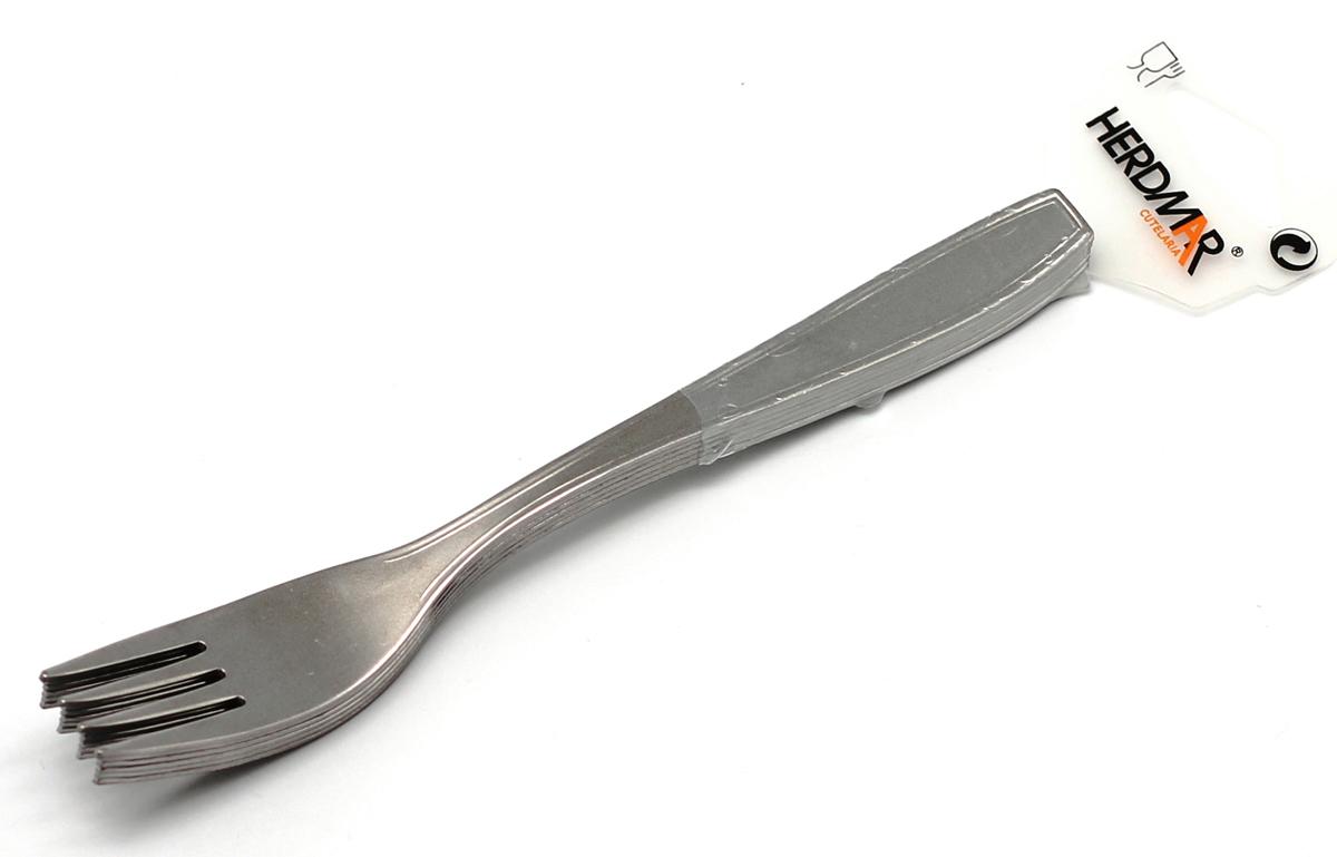 Набор вилок Herdmar Tillia, цвет: серебристый, 6 предметов09140020200M06Набор Herdmar Tillia, выполненный из высококачественной стали, состоит из шести вилок. Приборы оформлены зеркальной полировкой, что придает им строгость и изысканность.Такой набор прекрасно дополнит сервировку стола. Можно мыть в посудомоечной машине. Характеристики:Материал: сталь. Комплектация: 6 шт. Длина вилки: 19 см. Артикул: 09140020200M06.