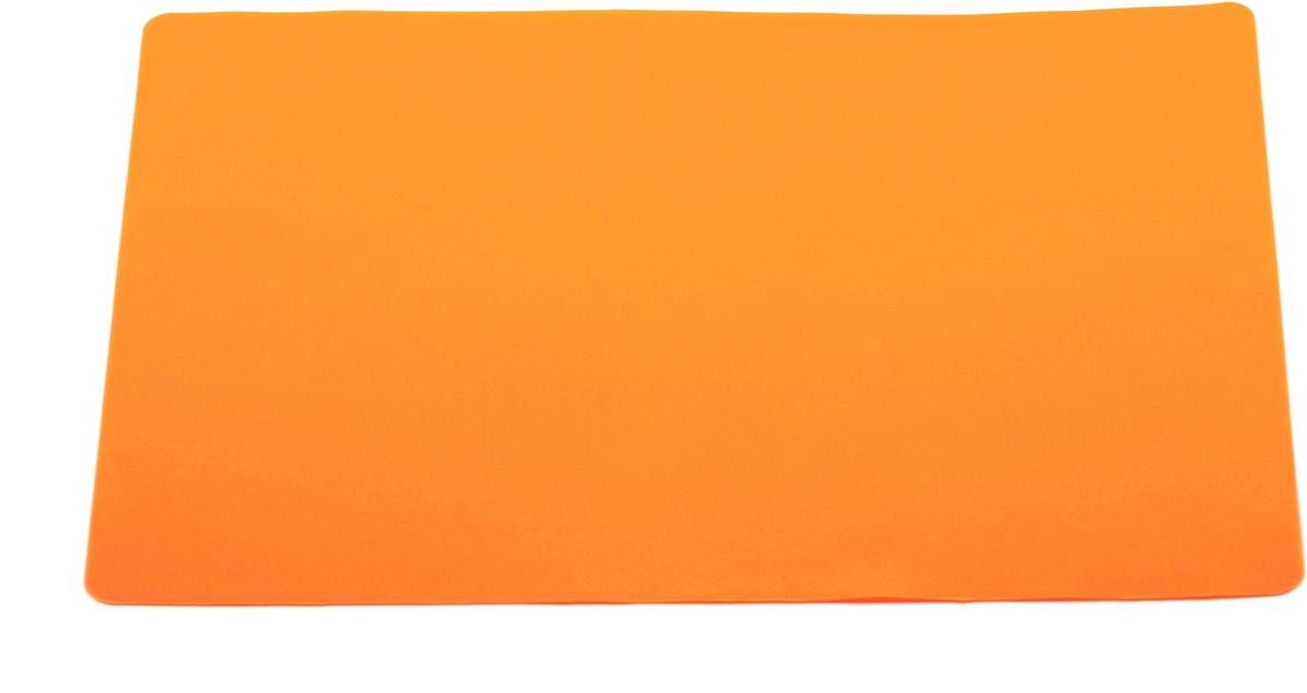 Кулинарный лист для раскатки теста Atlantis, цвет: оранжевый, 37 х 27 см. SC-MT-101-OSC-MT-101-OКулинарный лист для раскатки теста Atlantis изготовлен из высококачественного пищевого силикона. На нем очень удобно раскатывать тесто. Лист идеально прилегает к поверхности стола и не скользит, а тесто не пристает к листу, что обеспечивает удобное и комфортное приготовление.Лист выдерживает температуру до +230°С, не впитывает запахи и легко моется в посудомоечной машине. Можно использовать как подставку под горячую посуду.Теперь во время приготовления не нужно постоянно подсыпать муку, чтобы тесто не прилипало к поверхности стола. Вы сохраните чистоту на кухне и упростите столь трудоемкий процесс приготовления выпечки. Размер листа: 37 см х 27 см.
