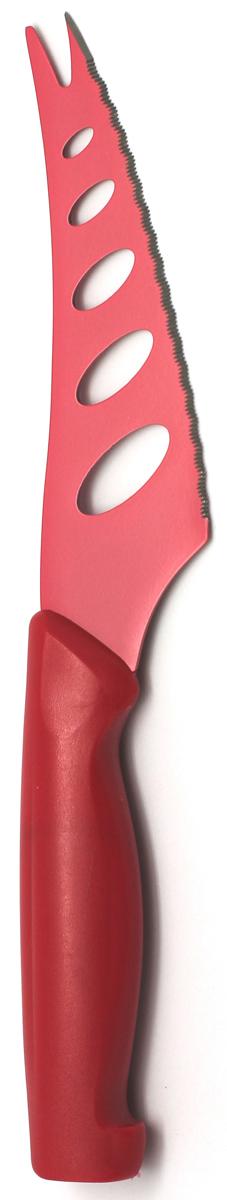 Нож для сыра Atlantis, цвет: красный, длина лезвия 13 см. 5Z-R atlantis volta антибактериальная v m g челябинск