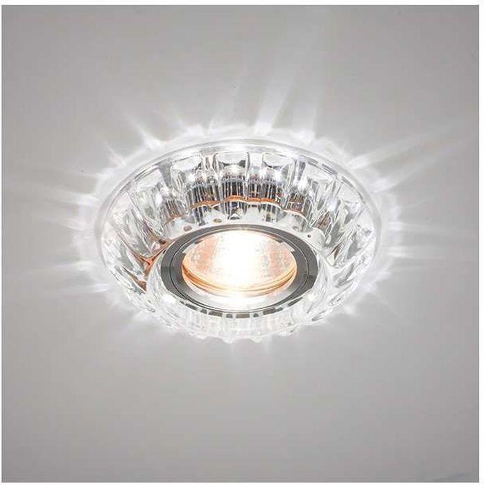 Светильник встраиваемый светодиодный ITALMAC Bohemia LED 51 2 70, MR16, цвет: прозрачный. IT8527 растровые встраиваемые светильники 3х14w встраиваемый 600х600