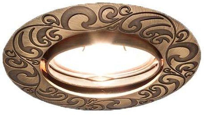 Светильник встраиваемый поворотный ITALMAC Olympia 51 1 19, литой, MR16, цвет: состаренная бронза. IT8398 растровые встраиваемые светильники 3х14w встраиваемый 600х600