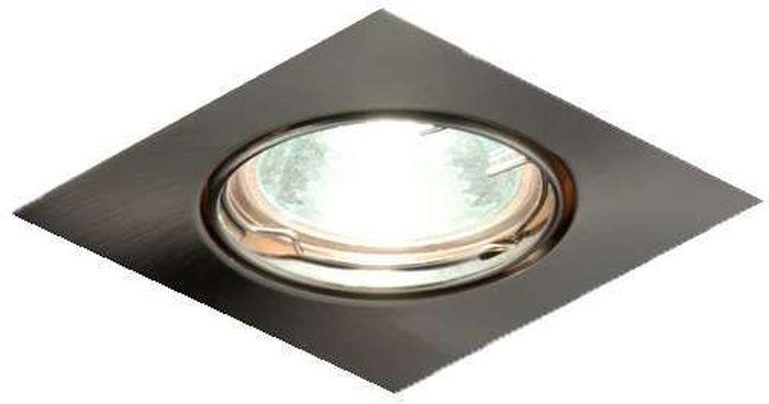 Светильник встраиваемый поворотный ITALMAC Ferrum 51 3 06, с галогеновой лампой, литой, MR16, цвет: никель. IT8007 растровые встраиваемые светильники 3х14w встраиваемый 600х600