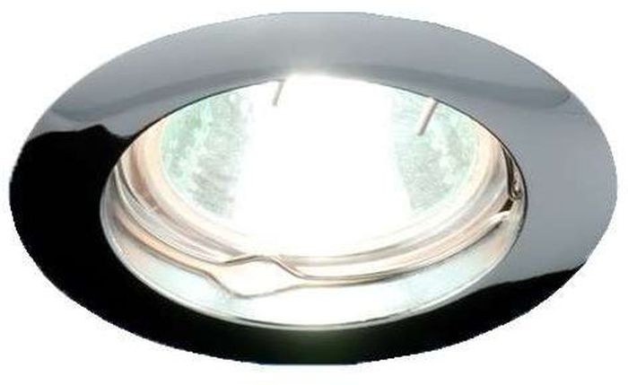 Светильник встраиваемый неповоротный ITALMAC Gamma 51 0 05, литой, MR16, цвет: хром. IT8010 растровые встраиваемые светильники 3х14w встраиваемый 600х600