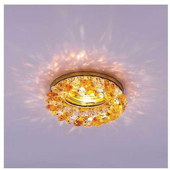 Светильник встраиваемый ITALMAC Venecia 51 04 73, MR16, цвет: золотистый. IT8289 растровые встраиваемые светильники 3х14w встраиваемый 600х600