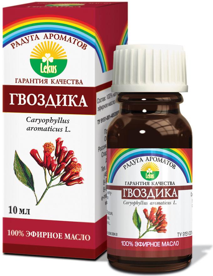 Радуга ароматов Гвоздика масло эфирное, 10 мл813Оказывает антиневралгическое, антисептическое, антивирусное, бактерицидное, болеутоляющее, спазмолитическое, ветрогонное, дезинфицирующее действие. Улучшает микроциркуляцию, нормализует артериальное давление.Повышает функциональную активность желудка, улучшает аппетит. Нормализует менструальный цикл,повышает половую активность (афродизиак). Тонизирует функцию селезёнки. Обладает сильным анестезирующим действием в стоматологии. Улучшает память. Способствует заживлению инфицированных ран. Эффективно при чесотке и борьбе с кровососущими насекомыми и молью.Формы применения:- аромалампа: 3-4 капли;- ванны: 2-4 капли, добавляя в пену для ванн;- обогащение косметических препаратов: 2-3 капли на 10 г основы.Краткий гид по парфюмерии: виды, ноты, ароматы, советы по выбору. Статья OZON Гид