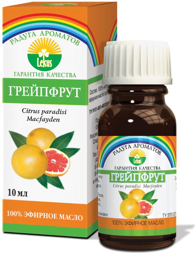 Бодрящий аромат грейпфрута оказывает стимулирующее и легкое тонизирующее действие, придает бодрость, помогает преодолеть стресс. Повышает сопротивляемость организма инфекционным и простудным заболеваниям. Оказывает болеутоляющее действие и облегчает боли при мигренях.  Осветляет жирную кожу, сужает поры, препятствует образованию камедонов. Великолепно питает и укрепляет волосы, восстанавливает естественную секрецию жирных волос.  Масло грейпфрута улучшает обмен веществ в организме, уменьшает отеки, снимает мышечные спазмы, эффективное средство при целлюлите и тучности. Дезинфицирует и оздоравливает воздух в жилых помещениях.  Формы применения:  Массаж: 4-6 капель на 15 г основы, ванны: 4-6 капель, аромалампы: 2-3 капли.    Краткий гид по парфюмерии: виды, ноты, ароматы, советы по выбору. Статья OZON Гид
