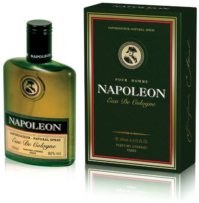 Brocard Napoleon Одеколон для мужчин, 100 мл одеколон