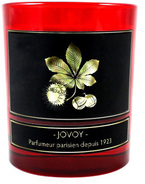 Jovoy Paris Свеча ароматизированная Marron 185 г70543Свеча, идеально подходящая для осенних вечеров. Аромат жаренных на огне каштанов с щепоткой специй.