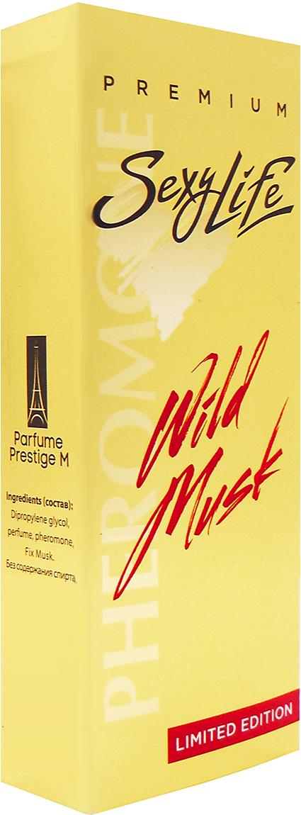 Wild Musk, Духи, № 1, мужские, 10 мл духи wild musk 1 sexy life духи wild musk 1