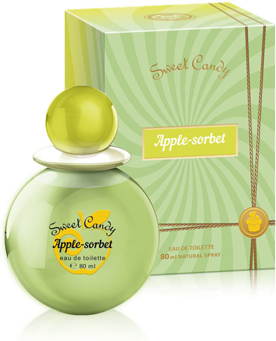 Sweet Candy Apple-Sorbet Туалетная вода 80 мл туалетная вода apple parfums эппл пур хомме джаст силвер apple homme just silver