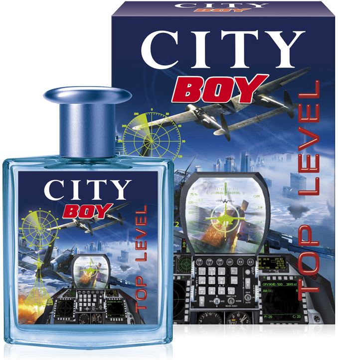 City Parfum,City Boy Top Level, туалетная вода 50 мл lepin 02052 the fire station truck set city series 60110 building blocks bricks educational boy toy christmas gift lepin city