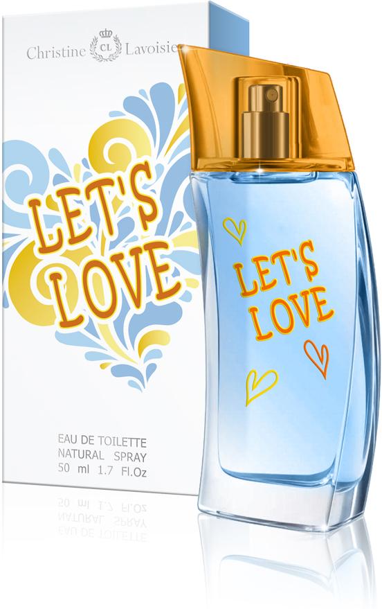Christine Lavoisier,Let's Love,туалетная вода 50 мл962965Упоительно свежий аромат LET`s Love - это бурный всплеск ярких эмоций и жизнерадостных красок, наполняющий энергией любви и радостью лета! Искристый цитрусовый микс заряжает бодростью нот лимона, грейпфрута и зеленого яблока. В сердце аромат обдает свежестью зеленых нот и белых цветов жасмина и апельсина, которые вновь вернут Вас в солнечное лето. Шлейф аромата, сотканный из нот кедра, ветивера, мускуса и амбры, добавит бархатистость и чувственность вашему неповторимому образу.Краткий гид по парфюмерии: виды, ноты, ароматы, советы по выбору. Статья OZON Гид