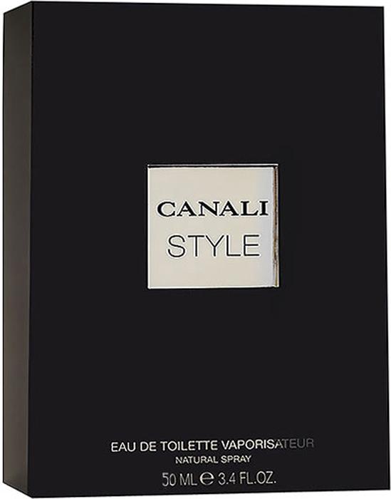 Canali Style. Туалетная вода, 50 млGA00712Canali Style продолжает историю элегантности и благородства ароматов Canali.Canali Style призван покорять сердца молодых и активных джентльменов, отдающих предпочтение итальянскому стилю.Аромат предназначен для современного мужчины, обладающего яркой индивидуальностью, тонкого соблазнителя, творческого и не боящегося экспериментов.Джентльмен, следящий за модными тенденциями, ему нравится изысканность высокого стиля. Он тщательно выбирает вещи, призванные ему служить. Мужчина Canali знает цену своего успеха и уверен в своих силах. Его выбор- современность в сочетании с классикой.Классификация аромата:древесный.Пирамида аромата: Верхние ноты: бергамот, грейпфрут, ананас, дыня, фиалка.Ноты сердца: кориандр, розовый перец, герань, мускатный орех, жасмин, озон.Ноты шлейфа: туя, пачули, ваниль, кедр, бобы тонка, кожа, амбра.Ключевые слова: Сильный, теплый, таинственный и элегантный! Характеристики:Объем: 50 мл. Производитель: Италия. Туалетная вода - один из самых популярных видов парфюмерной продукции. Туалетная вода содержит 4-10%парфюмерного экстракта. Главные достоинства данного типа продукции заключаются в доступной цене, разнообразии форматов (как правило, 30, 50, 75, 100 мл), удобстве использования (чаще всего - спрей). Идеальна для дневного использования. Товар сертифицирован.Краткий гид по парфюмерии: виды, ноты, ароматы, советы по выбору. Статья OZON Гид