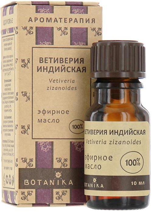 Эфирное масло Botanika Ветиверия индийская, 10 мл richter 12224255111 28