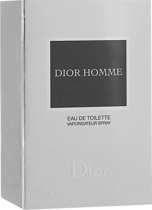 Christian Dior Dior Homme. Туалетная вода, мужская, 50 мл туалетная вода для женщин christian dior addict 50 мл
