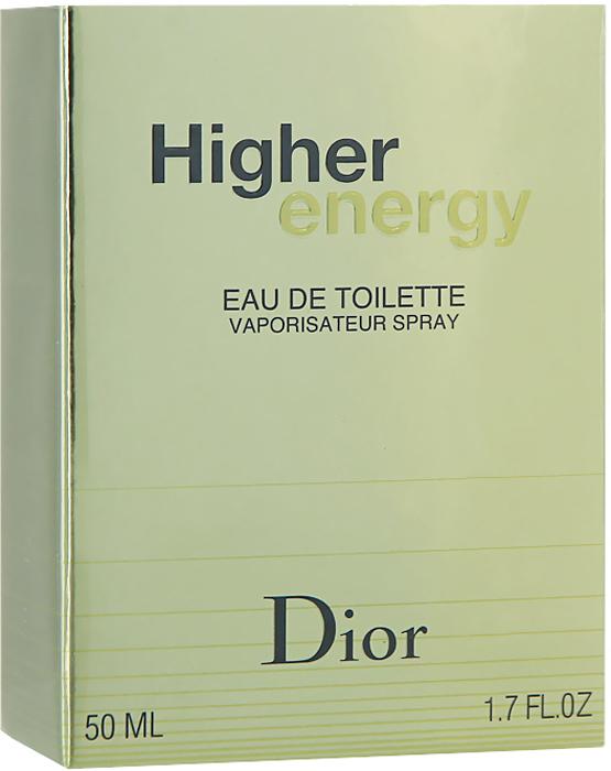Christian Dior Higher Energy. Туалетная вода, мужская, 50 мл dior homme шарф