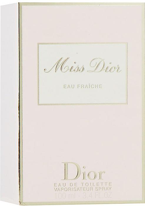 Christian Dior Miss Dior Eau Fraiche. Туалетная вода, 100 мл952231Christian Dior Miss Dior Eau Fraiche - женственный и чувственный, свежий и зеленый, шипрово-цветочный аромат. Глубокий и чувственный и в то же время кокетливый характер с бодрящим звуком солнечной весны. Этот аромат дополнил многообразие исключительных образов парижанки Miss Dior. В нем смешались легкость и элегантность.Классификация аромата: шипровый, цветочный.Верхние ноты: цитрусовые, гальбаниум.Ноты сердца: жасмин.Ноты шлейфа: бергамот, гардения, пачули.Ключевые слова Свежий, чувственный, легкий, элегантный! Характеристики:Объем: 100 мл. Производитель: Франция. Туалетная вода - один из самых популярных видов парфюмерной продукции. Туалетная вода содержит 4-10%парфюмерного экстракта. Главные достоинства данного типа продукции заключаются в доступной цене, разнообразии форматов (как правило, 30, 50, 75, 100 мл), удобстве использования (чаще всего - спрей). Идеальна для дневного использования. Товар сертифицирован.Краткий гид по парфюмерии: виды, ноты, ароматы, советы по выбору. Статья OZON Гид