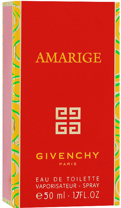 "Givenchy ""Amarige"". Туалетная вода, 50 мл"