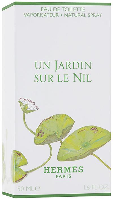 Hermes Un Jardin Sur Le Nil. Туалетная вода, 50 мл туалетная вода для женщин hermes un jardin sur le toit