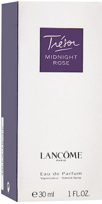 Lancome Парфюмерная вода Tresor Midnight Rose, 30 мл950602Lancome Tresor Midnight Rose - новая соблазнительная интерпретация прошлогоднего аромата Tresor In Love. Для любителей классической женственности, олицетворяемую цветком розы. Окунитесь в мир аромата розовых лепестков и вы почувствуете насколько музыка цветка сливается с ночной серенадой. Для этой парфюмерной воды были использованы несколько сортов этого великолепного цветка. Парфюмеры приложили все усилия, чтобы передать в этом запахе романтичное настроение ночного Парижа.Классификация аромата: восточный, цветочный.Верхние ноты: малина, роза.Ноты сердца: жасмин, пион, розовый перец, лист черной смородины.Ноты шлейфа: кедр, ваниль, мускус.Ключевые слова Женственный, изысканный, манящий, романтичный! Характеристики:Объем: 30 мл. Производитель: Франция. Самый популярный вид парфюмерной продукции на сегодняшний день - парфюмерная вода. Это объясняется оптимальным балансом цены и качества - с одной стороны, достаточно высокая концентрация экстракта (10-20% при 90% спирте), с другой - более доступная, по сравнению с духами, цена. У многих фирм парфюмерная вода - самый высокий по концентрации экстракта вид товара, т.к. далеко не все производители считают нужным (или возможным) выпускать свои ароматы в виде духов. Как правило, парфюмерная вода всегда в спрее-пульверизаторе, что удобно для использования и транспортировки. Так что если духи по какой-либо причине приобрести нельзя, парфюмерная вода, безусловно, - самая лучшая им замена.Товар сертифицирован.Краткий гид по парфюмерии: виды, ноты, ароматы, советы по выбору. Статья OZON Гид