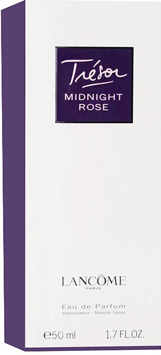 Lancome Tresor Midnight Rose. Парфюмерная вода, 50 мл950601Lancome Tresor Midnight Rose - новая соблазнительная интерпретация прошлогоднего аромата Tresor In Love. Для любителей классической женственности, олицетворяемую цветком розы. Окунитесь в мир аромата розовых лепестков и вы почувствуете насколько музыка цветка сливается с ночной серенадой. Для этой парфюмерной воды были использованы несколько сортов этого великолепного цветка. Парфюмеры приложили все усилия, чтобы передать в этом запахе романтичное настроение ночного Парижа.Классификация аромата: восточный, цветочный.Верхние ноты: малина, роза.Ноты сердца: жасмин, пион, розовый перец, лист черной смородины.Ноты шлейфа: кедр, ваниль, мускус.Ключевые слова Женственный, изысканный, манящий, романтичный! Характеристики:Объем: 50 мл. Производитель: Франция. Самый популярный вид парфюмерной продукции на сегодняшний день - парфюмерная вода. Это объясняется оптимальным балансом цены и качества - с одной стороны, достаточно высокая концентрация экстракта (10-20% при 90% спирте), с другой - более доступная, по сравнению с духами, цена. У многих фирм парфюмерная вода - самый высокий по концентрации экстракта вид товара, т.к. далеко не все производители считают нужным (или возможным) выпускать свои ароматы в виде духов. Как правило, парфюмерная вода всегда в спрее-пульверизаторе, что удобно для использования и транспортировки. Так что если духи по какой-либо причине приобрести нельзя, парфюмерная вода, безусловно, - самая лучшая им замена.Товар сертифицирован.Краткий гид по парфюмерии: виды, ноты, ароматы, советы по выбору. Статья OZON Гид