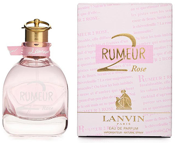 Lanvin Rumeur 2 Rose Woman Парфюмерная вода, 50 мл00007575Женственность, красота, обаяние, чувственность. Все это легло в основунежного, прекрасного цветочного аромата Lanvin Rumeur 2 Rose. Ведущейнотой в нем выступает страстная и благородная роза, которая обволакиваетсвоим неповторимым шлейфом, сводя с ума и заставляя мужчин оборачиватьсявслед и тихо вздыхать в надежде, что королева изберет именно его в своифавориты.Классификация аромата: Цветочные, фруктовые. Апельсин, бергамот, грейпфрут, груша, лимон, ноты свежести, жасмин, жимолость, ландыш, магнолия, роза, амбра, мускус, пачули. Самый популярный вид парфюмерной продукции на сегодняшний день - парфюмерная вода. Это объясняется оптимальным балансом цены икачества - с одной стороны, достаточно высокая концентрация экстракта (10-20%при 90% спирте), с другой - более доступная, по сравнению с духами, цена. Умногих фирм парфюмерная вода - самый высокий по концентрации экстрактавид товара, т.к. далеко не все производители считают нужным (или возможным)выпускать свои ароматы в виде духов. Как правило, парфюмерная вода всегда вспрее-пульверизаторе, что удобно для использования и транспортировки. Такчто если духи по какой-либо причине приобрести нельзя, парфюмерная вода,безусловно, - самая лучшая им замена.Товар сертифицирован.Краткий гид по парфюмерии: виды, ноты, ароматы, советы по выбору. Статья OZON Гид