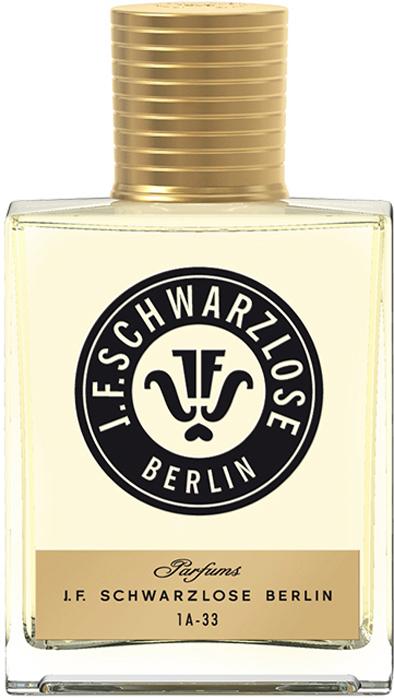 J.F. Schwarzlose Berlin Парфюмерная вода Дух Берлина 50 млSCH1A33новая интерпретация классического парфюма Schwarzlose, воплощающего в себе «дух Берлина». Название напоминает об автомобильных номерных знаках довоенного Берлина.