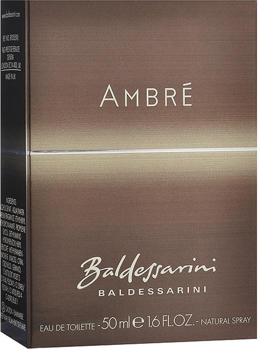 "Baldessarini ""Ambre"". Туалетная вода, 50 мл"