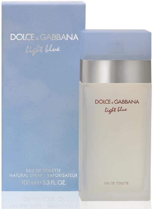 Dolce & Gabbana Туалетная вода Light Blue, 100 мл8411061665039Этот аромат посвящен чувственным богиням Средиземноморья, а любим женщинами всех возрастов во многих странах мира. Один из популярнейших ароматов на российском рынке. Мгновенно овладевающий вами, неотразимый как сама радость жизни! Импульсивная и яркая композиция сделала туалетную воду Dolce & Gabbana Light Blue бестселлером парфюмерного рынка.Бархатная упаковка небесно-голубого цвета, матовый флакон создают ощущение фирменной утонченной роскоши от мастеров моды! Классификация аромата: фруктовый, цветочный. Пирамида аромата · Верхние ноты: сицилийский лимон, колокольчики, зеленые яблоки сорта Гренни Смит. · Ноты сердца: жасмин, бамбук, белая роза. · Ноты шлейфа: кедр, амбра, мускус. Ключевые слова: нежный, искрящийся, энергичный, очаровывающий, оптимистичный, чувственный.Туалетная вода - один из самых популярных видов парфюмерной продукции. Туалетная вода содержит 4-10% парфюмерного экстракта. Главные достоинства данного типа продукции заключаются в доступной цене, разнообразии форматов (как правило, 30, 50, 75, 100 мл), удобстве использования (спрей). Идеальна для дневного использования.Товар сертифицирован.Уважаемые клиенты!Обращаем ваше внимание на возможные изменения дизайна упаковки.Краткий гид по парфюмерии: виды, ноты, ароматы, советы по выбору. Статья OZON Гид